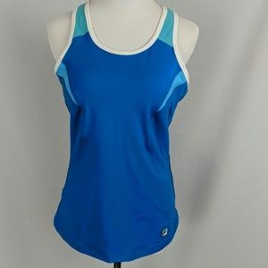 Fila athletic tank top tennis yoga running NWOT
